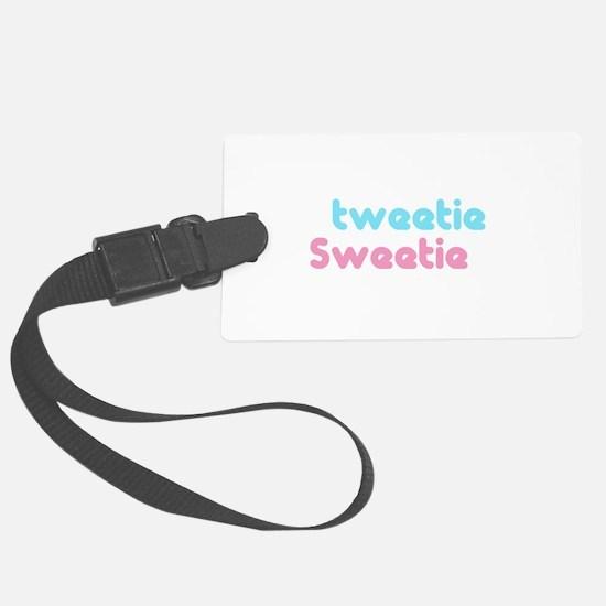 tweetie sweetie.png Luggage Tag