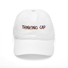 Thinking Baseball Cap - for intellectuals Baseball Cap