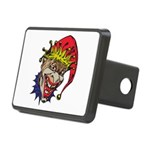 laughing evil clown.png Rectangular Hitch Cover