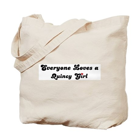 Quincy girl Tote Bag
