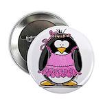 Ballet Penguin Button