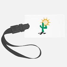 cactus and sun copy.jpg Luggage Tag