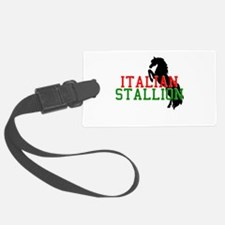 italian stallion black.png Luggage Tag