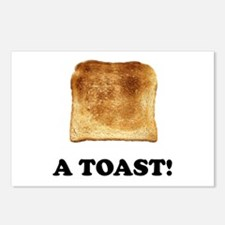A Toast Postcards (Package of 8)