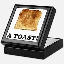 A Toast Keepsake Box