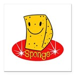 spongehahaha copy.jpg Square Car Magnet 3