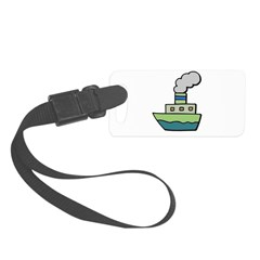 toy boat.psd Luggage Tag