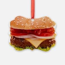 yummy cheeseburger photo Ornament