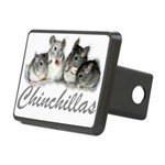 Chinchilla Rectangular Hitch Cover