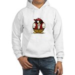 Pirate Penguin Hooded Sweatshirt