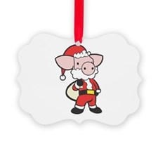 santa piggy copy.jpg Ornament