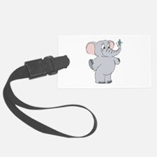hanakuah elephant copy.jpg Luggage Tag