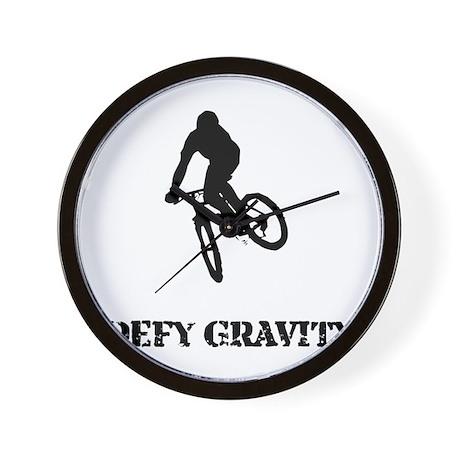 Defy Gravity Wall Clock