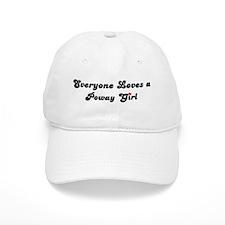 Poway girl Baseball Cap