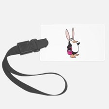 penguin easter bunny copy.jpg Luggage Tag