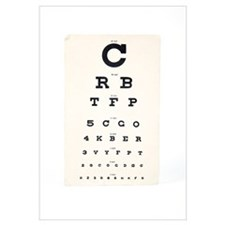 Eyesight test chart