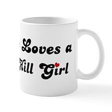 Russian Hill girl Small Mug