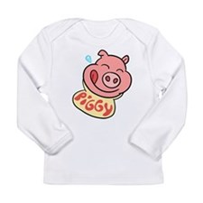 Piggy Long Sleeve Infant T-Shirt