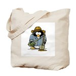 Treasure Hunter Penguin Tote Bag