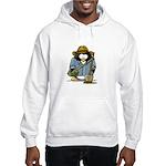 Treasure Hunter Penguin Hooded Sweatshirt
