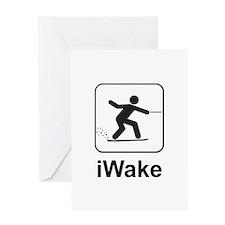 iWake Greeting Card