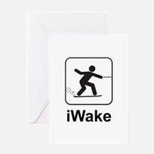 iWake Greeting Card