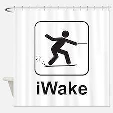 iWake Shower Curtain