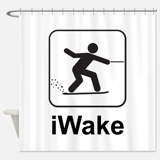 iWake Shower Curtain