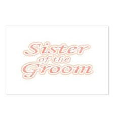 Sister of the Groom Postcards (Package of 8)