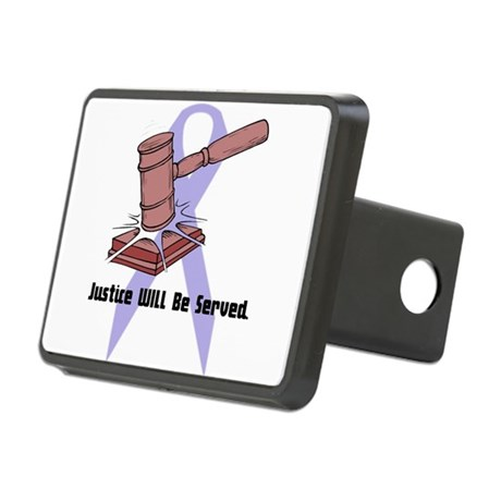 domestic violence.psd Rectangular Hitch Cover