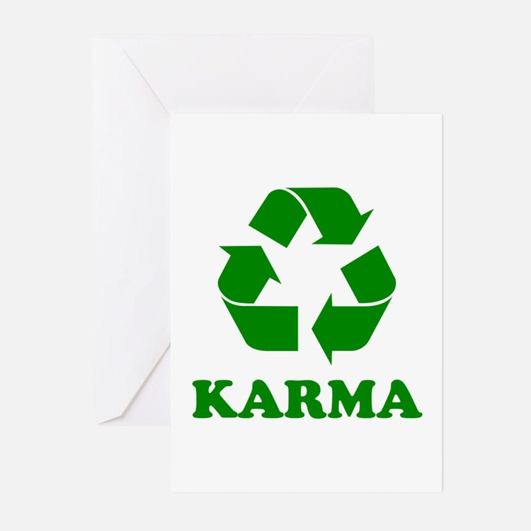 Karma Recycle Greeting Cards (Pk of 20)
