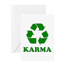 Karma Recycle Greeting Card