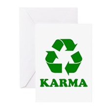 Karma Recycle Greeting Cards (Pk of 10)