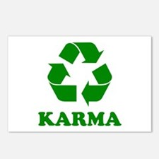 Karma Recycle Postcards (Package of 8)