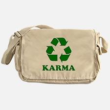 Karma Recycle Messenger Bag