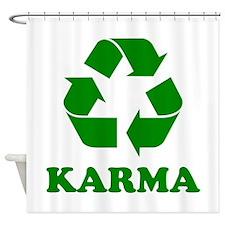 Karma Recycle Shower Curtain