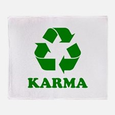 Karma Recycle Throw Blanket