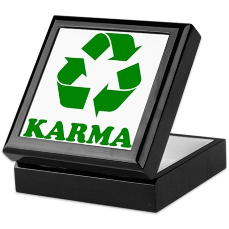 Karma Recycle Keepsake Box
