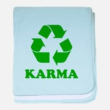 Karma Recycle baby blanket