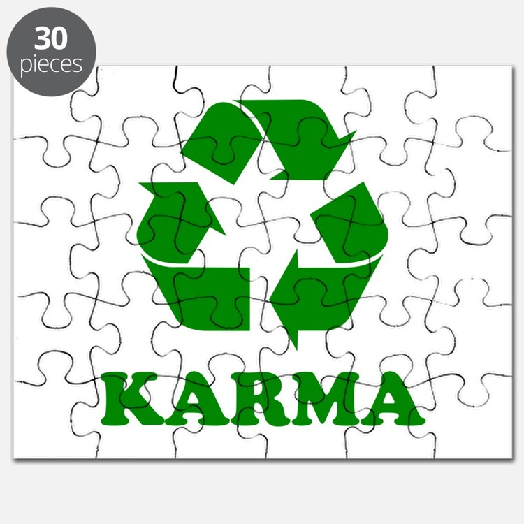 Karma Recycle Puzzle