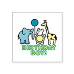 birthday boy copy.jpg Square Sticker 3
