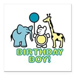 birthday boy copy.jpg Square Car Magnet 3