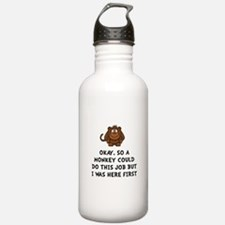Monkey Job Water Bottle