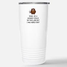 Monkey Job Travel Mug