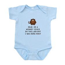 Monkey Job Infant Bodysuit