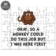 Monkey Job Puzzle