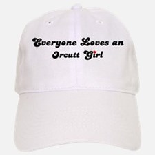 Orcutt girl Baseball Baseball Cap