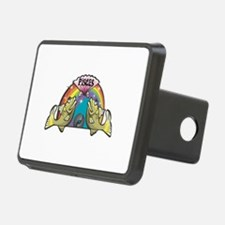 Pisces Fish with Rainbow Hitch Cover