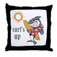surf s up Throw Pillow