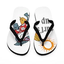 surf s up Flip Flops